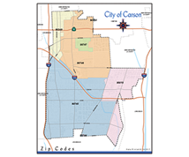 Carson Gis City Of Carson California